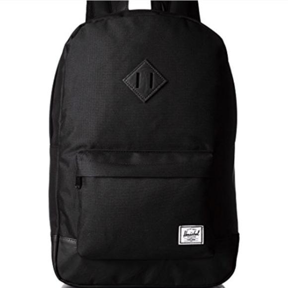 1a541b9ae20 Herschel Black on Black Bookbag